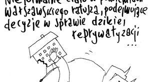 Nieformalne ciało w podziemiach warszawskiego ratusza