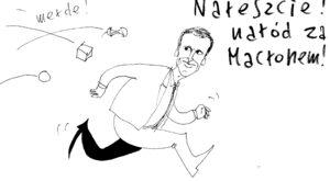 Naród za Macronem