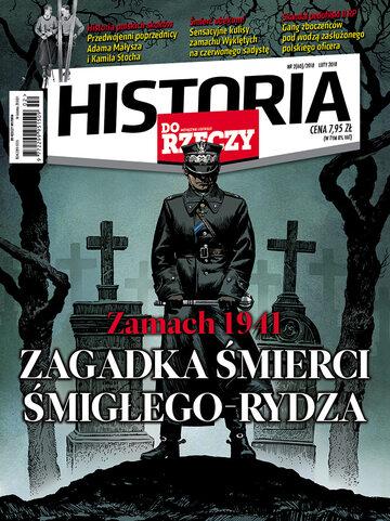 """Okładka miesięcznika """"Historia Do Rzeczy"""" nr 2/2018 (60)"""